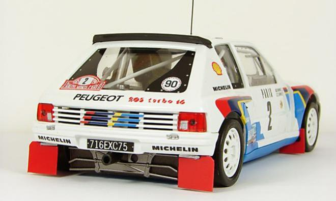peugeot 205 t16 evo1 original slot cars. Black Bedroom Furniture Sets. Home Design Ideas