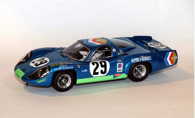 alpine renault a220 lm 69 le mans miniatures. Black Bedroom Furniture Sets. Home Design Ideas