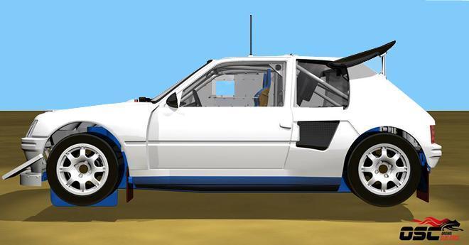 peugeot 205 t16 evo 2 original slot cars. Black Bedroom Furniture Sets. Home Design Ideas