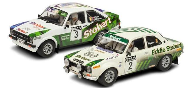 eddie stobart ford escort rac rally scalextric