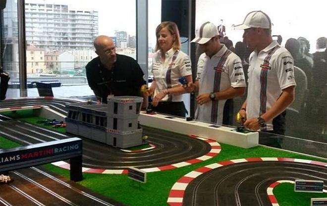 TEAM WILLIAMS F1 SLOT TRAINING