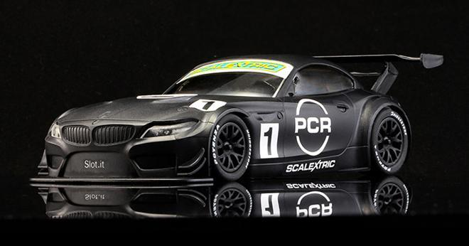 BMW Z4 GT3 PCR SCALEXTRIC TEST