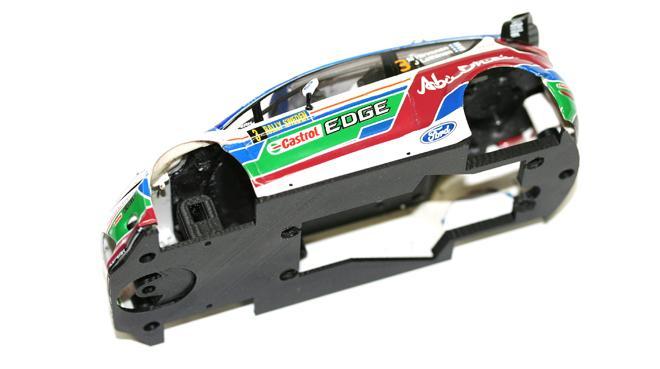 Kinderrennbahnen Spielzeug Scalextric Chassis Ford Fiesta Wrc
