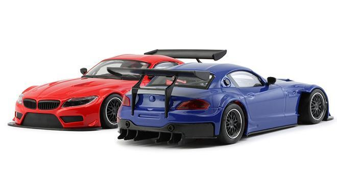 Two Z4 Gt3 More Nsr In Blue And Red