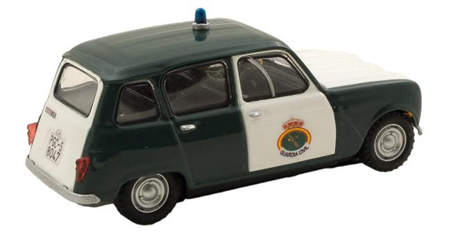 renault 4l guardia civil joaquimoslot limited edition. Black Bedroom Furniture Sets. Home Design Ideas