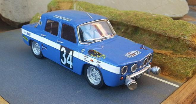 renault 8 gordini 1967 rally portugal winner scalextricpassion. Black Bedroom Furniture Sets. Home Design Ideas