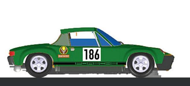 PORSCHE 914/6 E SCHIMPF SLOT RACING COMPANY