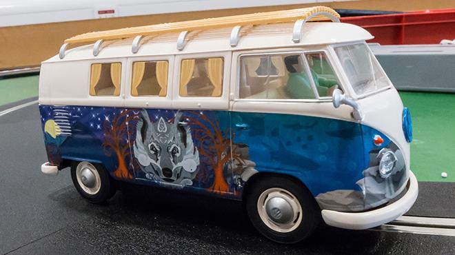 volkswagen hippie van scalextric. Black Bedroom Furniture Sets. Home Design Ideas