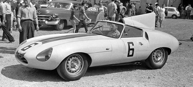 JAGUAR E2A LM 1960 / SLOT CLASSIC