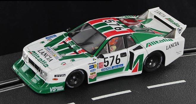 Lancia Beta Montecarlo Turbo Gr 5    Sideways