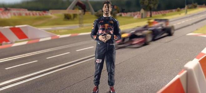 RICCIARDO RED BULL RING CARRERA