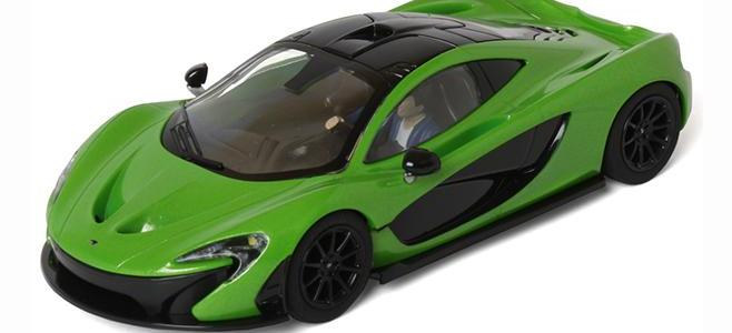 MCLAREN P1 MANTIS GREEN SCALEXTRIC