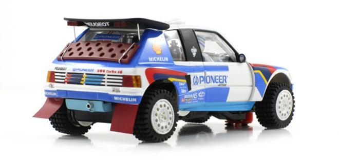 peugeot 205 t16 dakar 1988 scaleauto. Black Bedroom Furniture Sets. Home Design Ideas