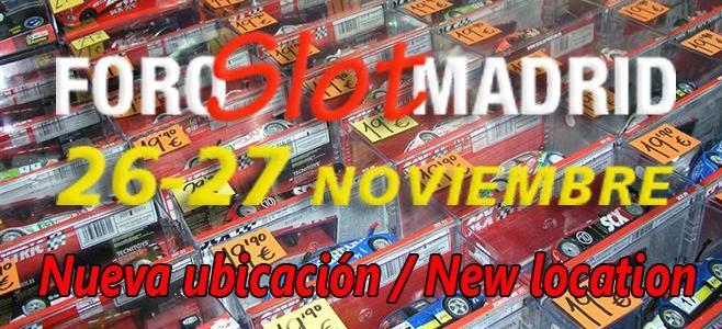 FORO SLOT MADRID OTO�O 2016