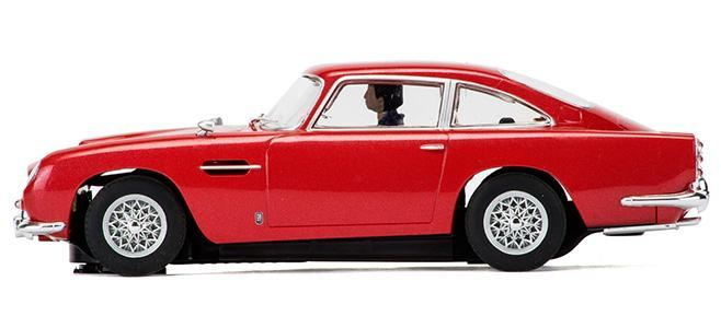 aston martin db5 red scalextric