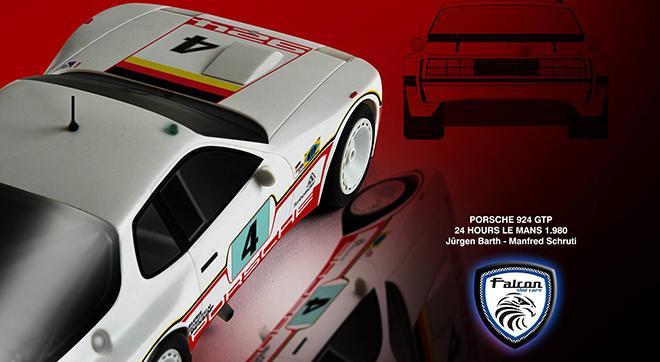 porsche 924 carrera gtp preview falcon slot cars. Black Bedroom Furniture Sets. Home Design Ideas