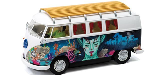 VW CAMPER HIPPIE SCALEXTRIC