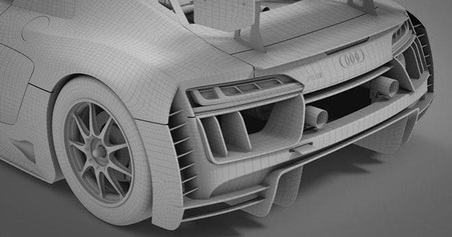 AUDI R8 LMS GT3 PREVIEW SCALEUTO
