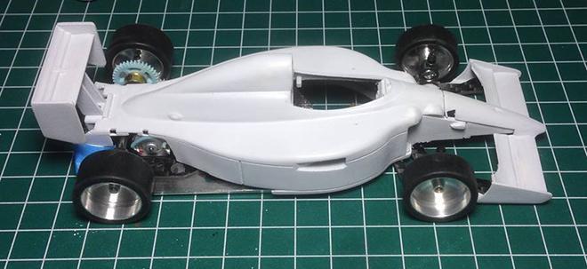 3DP Williams and Ferrari F1 / The Area71 SlotCars