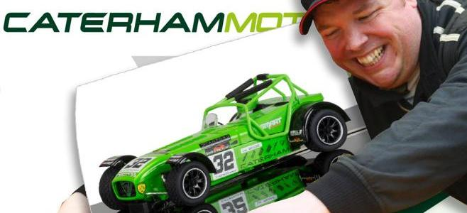 CATERHAM SUPERLIGHT R300S LEE SCALEXTRIC