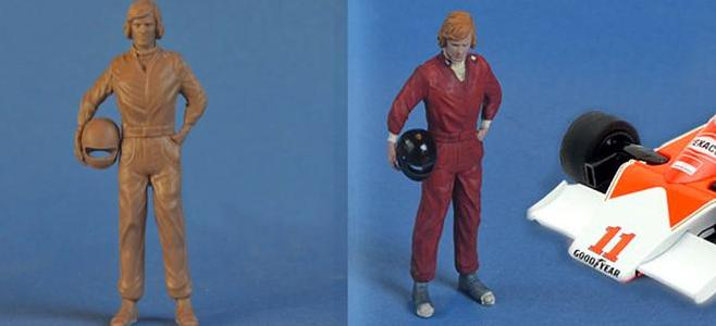 JAMES HUNT FIGURE IMMENSE MINIATURES