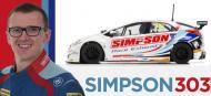 HONDA CIVIC TYPE R SIMPSON BTCC SCALEXTRIC