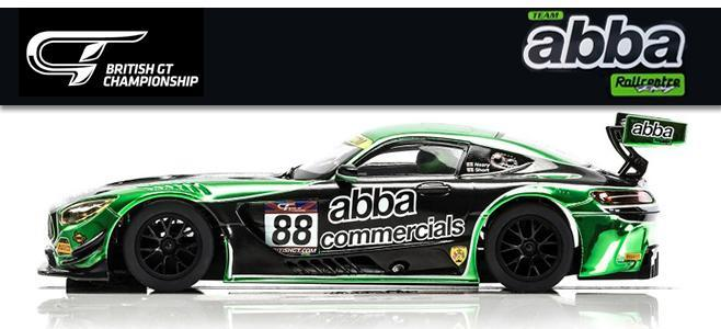 MERCEDES AMG GT3 ABBA SCALEXTRIC