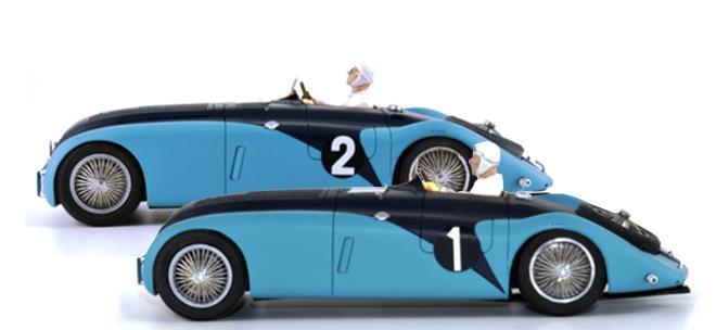 Bugatti 57g Tank Le Mans Miniatures