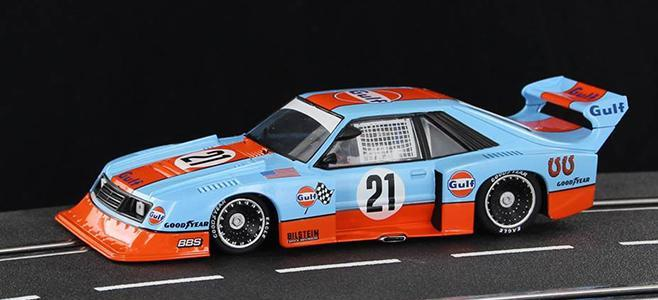 FORD MUSTANG TURBO GR5 GULF SIDEWAYS