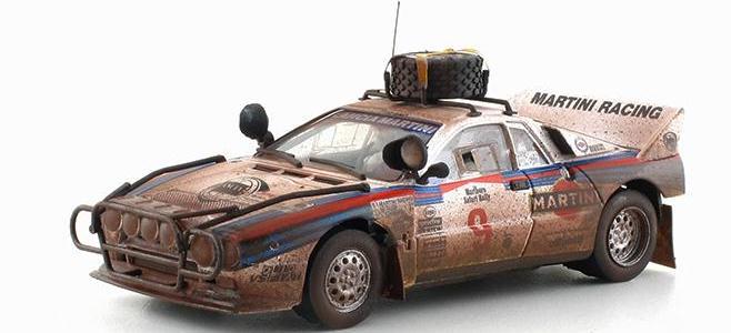 LANCIA 037 #9 LIMIT ED. FLY CAR MODEL