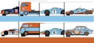GULF YEAR SCALEXTRIC