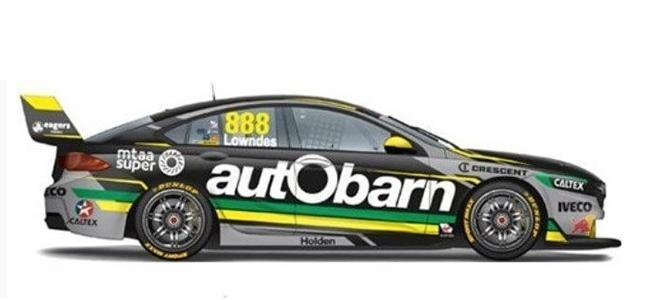 HOLDEN V8 COMMODORE PREVIEW SCALEXTRIC