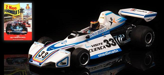 BRABHAM BT44B FLY CAR MODEL