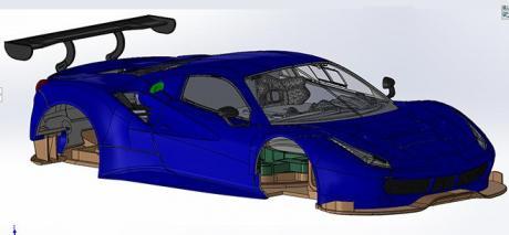 FERRARI 488 GT3 PREVIEW SIDEWAYS
