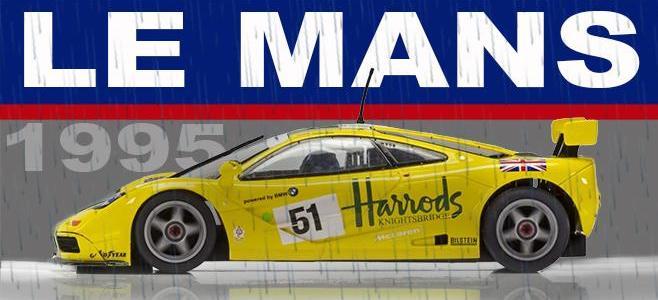 MCLAREN F1 GTR HARRODS SCALEXTRIC