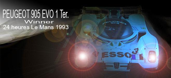 PEUGEOT 905 EVO 1 TER LMM