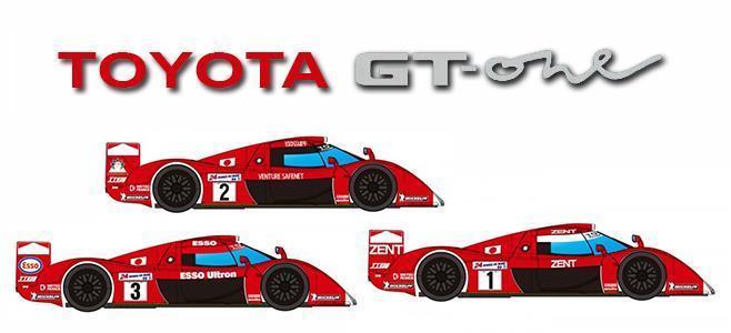 TOYOTA GT 0NE PREVIEW REVOSLOT