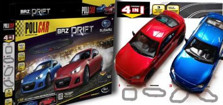 BRZ DRIFT SET POLICAR