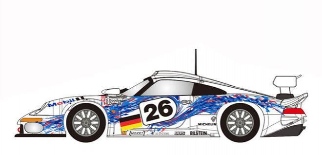 Revoslot Porsche 911 GT1 Mobil 1 #26 Revo Slot Car 1//32 RS0061