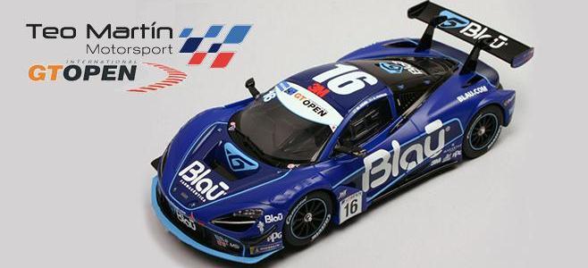 720S GT3 #16 Blau CARRERA