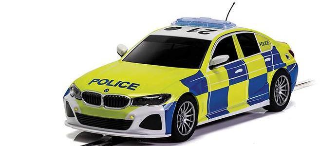 BMW 330 I POLICE SCALEXTRIC