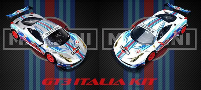 GT3 ITALIA KIT MARTINI BLACK ARROW
