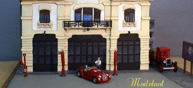 garage alfa romeo modelant. Black Bedroom Furniture Sets. Home Design Ideas