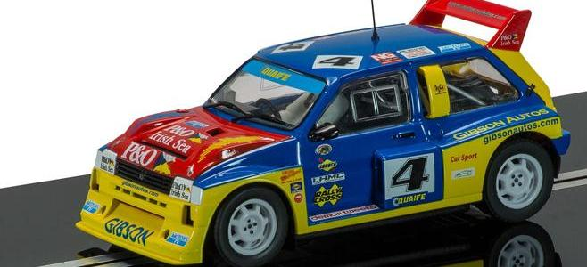 MG METRO 6R4 LYDDEN HILL SCALEXTRIC