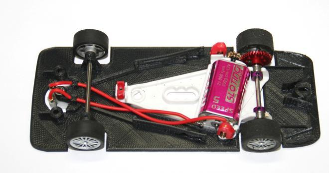 3DP CHASSIS SCX SLOTING PLUS