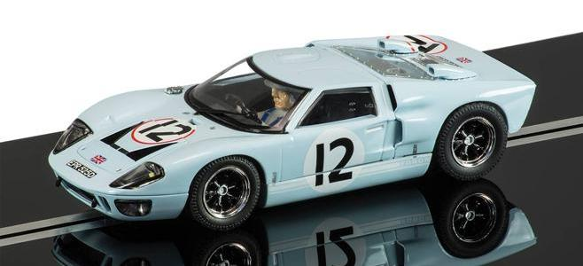 FORD GT40 MKI SCALEXTRIC