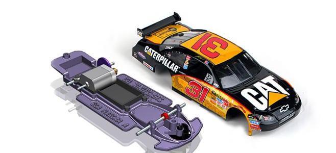 NASCAR 3DP CHASSIS CG SLOTCARS
