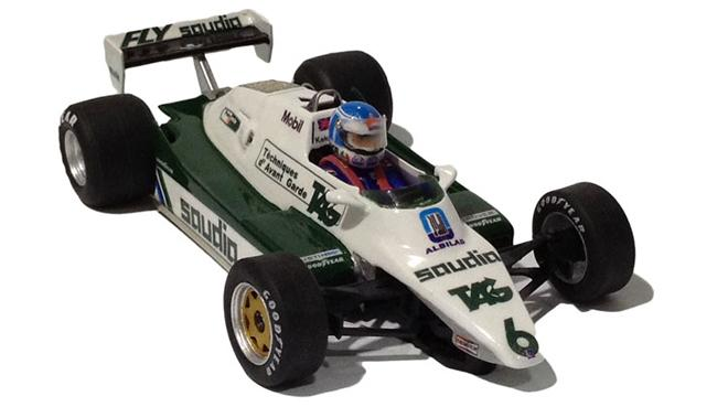 WILLIAMS FW08 KEKE ROSBERG MORE THAN SLOT