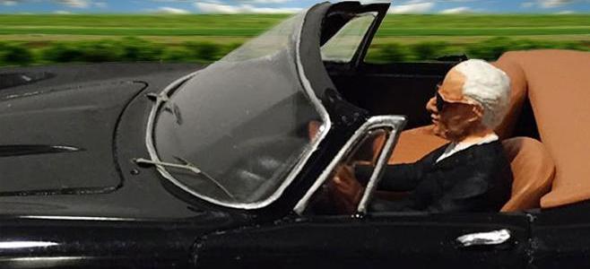 275 GTB SPIDER BLACK E FERRARI MTS