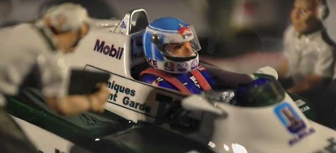 WILLIAMS FW08 VIDEO MORE THAN SLOT